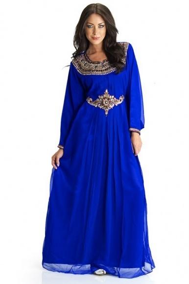 blue jelbab