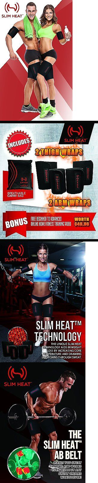 Other Weight Management: Slim Heat Body Wraps For Arms And Thighs 2-Piece Set - Contouring Weight Loss To BUY IT NOW ONLY: $38.54