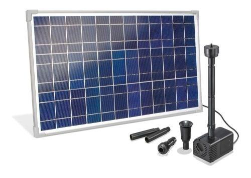 Fuente solar Marina 12-24V, 1700 l/h, 230 cm, 3 boquillas