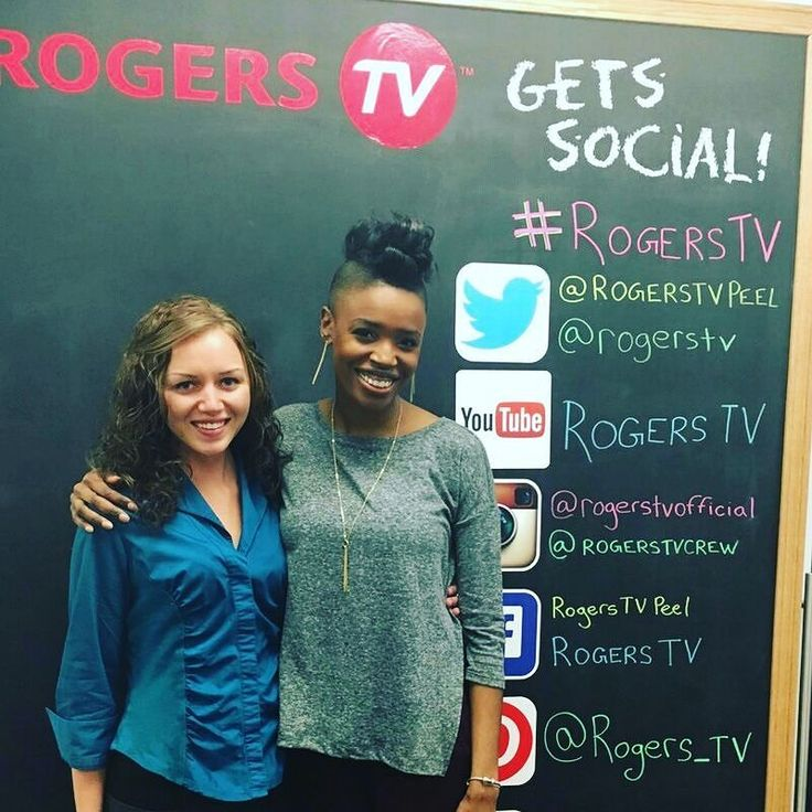 """#TBT Chantale Pomerleau (Autism Canada Ambassador) and Jam Gamble (TV Host & Media Personality) on the set of """"A Voice for All"""". They filmed an interview discussing how Autism Canada supports individuals and families living on the spectrum. Tune in to Season 6 to learn more about physical developmental and intellectual disabilities."""