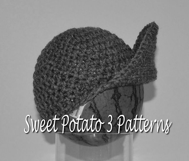Ravelry: Grease Monkey Cap pattern by Christins from My Sweet Potato 3