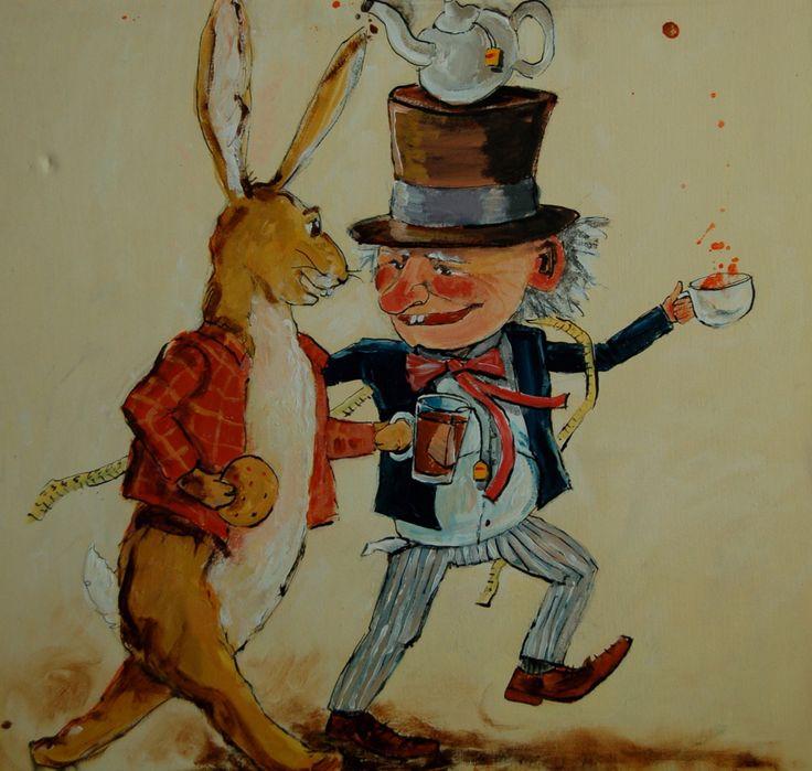 De gekke hoedenmaker en de maartse haas
