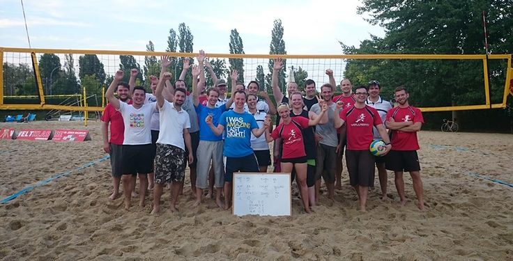 Silicon Sanssouci rocks! Beachvolleyball 2015