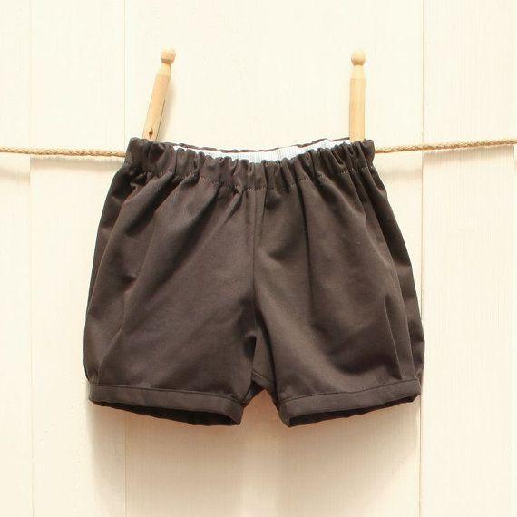 Baby boy shorts retro style ring bearer bloomer by MangeToutBaby