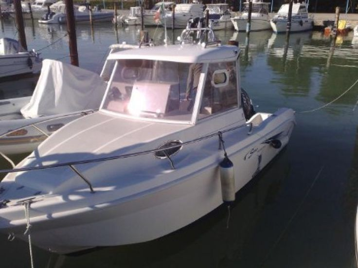 Barche da pesca usate, Saver 540 cabin fish