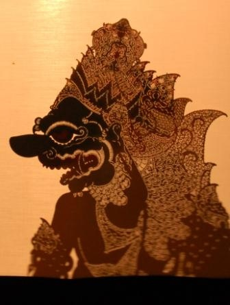wayang kulit- indonesian shadow puppet by gauri bharat, via Flickr