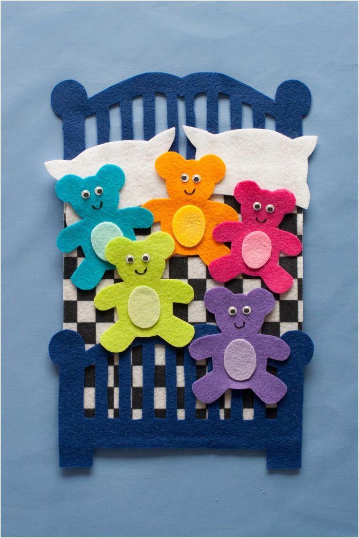 Five in the Bed Felt Board Magic