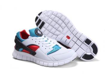 Cheap Nike Huarache Free Mens Run Trainers Size UK 11 QS White / White / Blue Emerald Sale UK -Nike Huarache Free