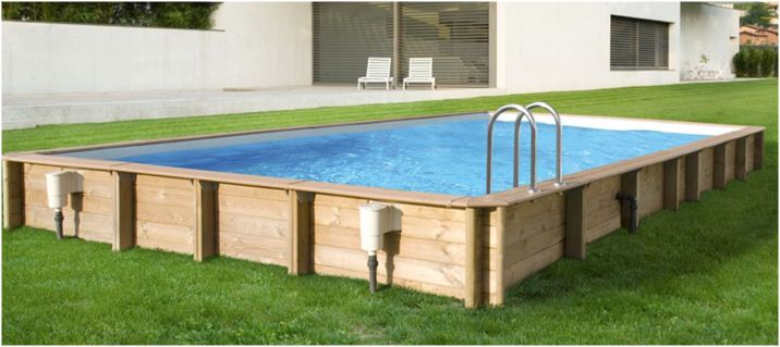 drevený bazén, bazény z dreva, kvalitné drevené bazény, bazény do záhrady pre rodinu, rodinný bazén, bazén z prírodných materiálov. Bazény, vírivky, sauny, soláriá, wellness, chémia, mozaiky, e-shop MostPools.sk