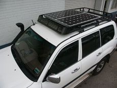 4WD Solar Roof Rack (230×173)