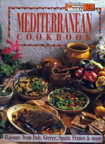Women-039-s-Weekly-Mediterranean-Cook-Book-FREE-AUS-POST-used-paperback