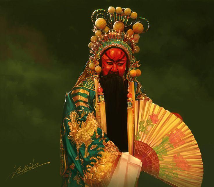 Beijing opera by ~zhuzhu on deviantART