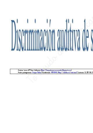 Discriminacion auditiva sinfones 3