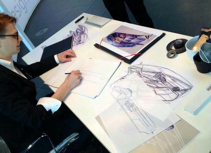 Artur Sperling, interior designer. Audi TT Design Team