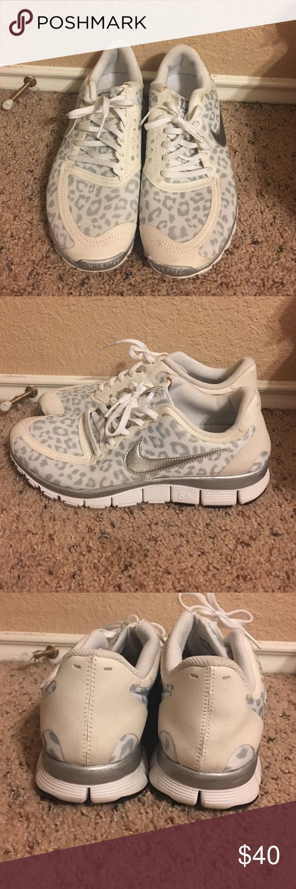 Snow Leopard Nikes Snow Leopard Nikes great condition I just don't ever use them Nike Shoes Athletic Shoes