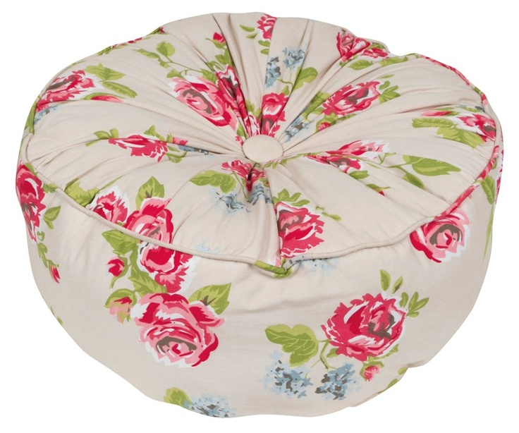 Cushions - Betty Lou Poofy Cushion - Wallace Cotton