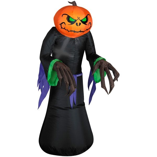 pumpkin reaper kid airblown inflatable from spirit halloween on catalog spree my personal digital mall - Www Gemmy Com Halloween
