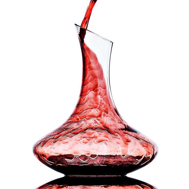 #tosimplyshop Culinaire 60.8 oz (1800) ml Crystal Glass Wine Decanter / Wine Carafe #homedecor #crystal #home