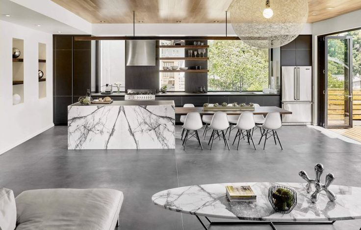Oakland Residence, a private residence in Oakland, California renovated by Knock Architecture and Design; via @HomeDSGN