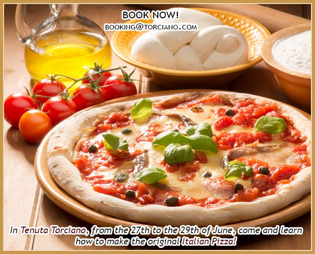 #PIZZA #COOKING #CLASS #EVENT IN #TUSCANY book your cooking class and learn how to cook the real #italian pizza! This #weekend don't miss it! http://bit.ly/1i519zQ #italy #winetasting #adventure #cookinglcass