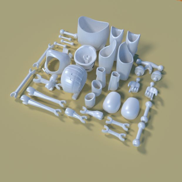 19 best 3D images on Pinterest Toys, Action figures and Products