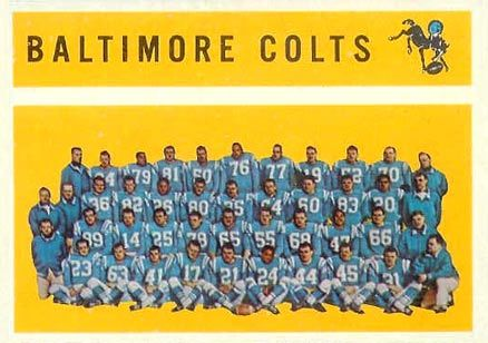 Baltimore Colts (1960 Topps)