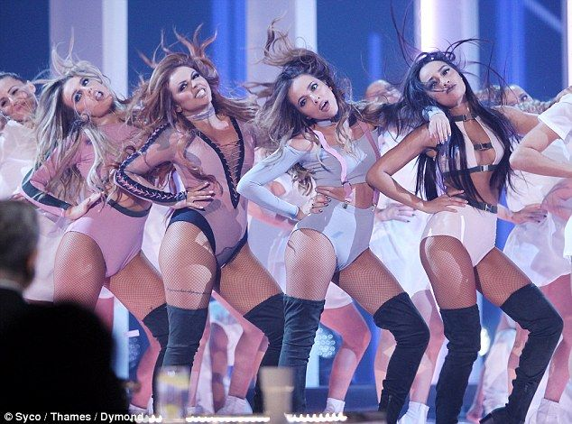 Racy: Despite their enduring popularity Little Mix have once again been criticised for spo...