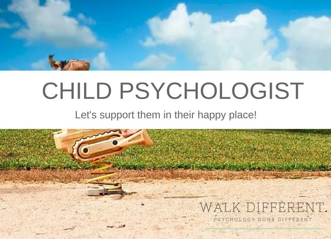 Child Psychologists - Let's support them in their happy place!