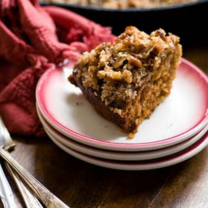 Dr Pepper Oatmeal Cake With Coconut And Pecan Topping