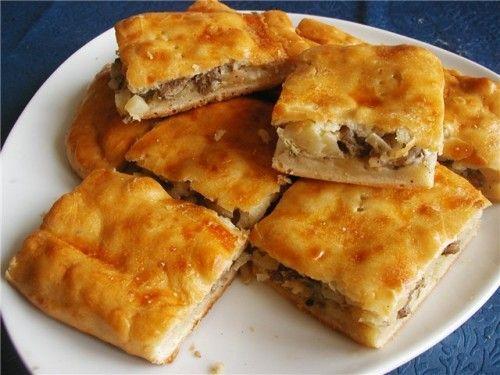 Рыбно-картофельный пирог по-старорусски / Простые рецепты