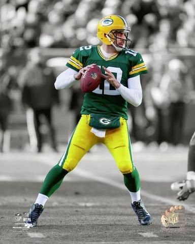 Green Bay Packers - Aaron Rodgers - Canvas Sportswrap