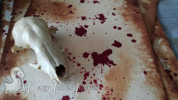 FREE SHIPPING Parchment paper Blood by DavyJonesLockerShop