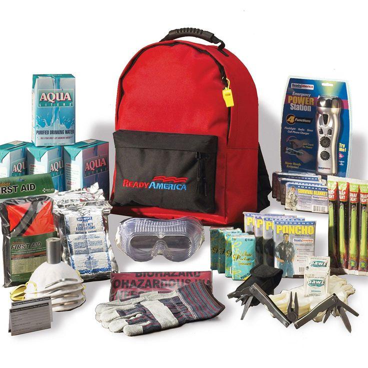 Grab n go 3 day emergency deluxe kit 4 people sams