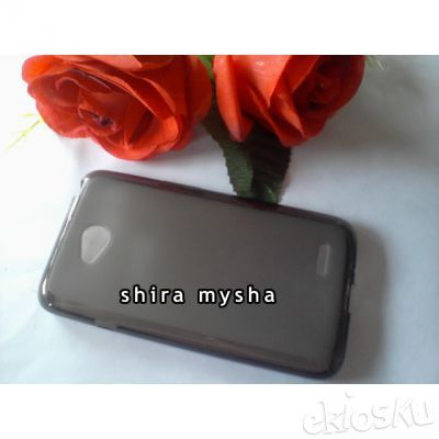 Jual Silikon Soft Case LG OPTIMUS L70 D325 MS323 DUAL SIM | HITAM | Shira Shop