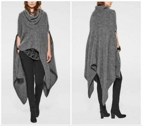 Χειροποίητο μάλλινο πόντσο πιάνει έως 60 νούμερο.  http://handmadecollectionqueens.com/Χειροποιητο-μαλλινο-ποντσο  #handmade #fashion #poncho #cape #women #clothing #storiesforqueens