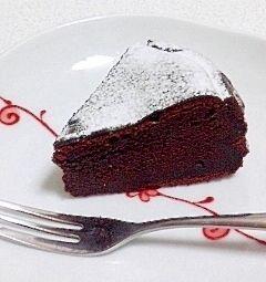 ボウル1つで簡単*生チョコみたいなガトーショコラ レシピ・作り方 by maddertale|楽天レシピ