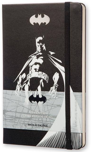Moleskine Batman Limited Edition Hard Plain Large Notebook by MOLESKINE S.P.A. (8052204400942) | hive.co.uk