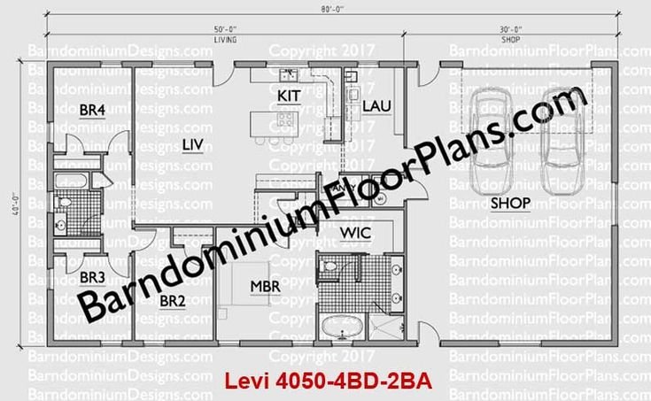 21 best barndominium floor plans images on pinterest for Barndominium floor plans with garage