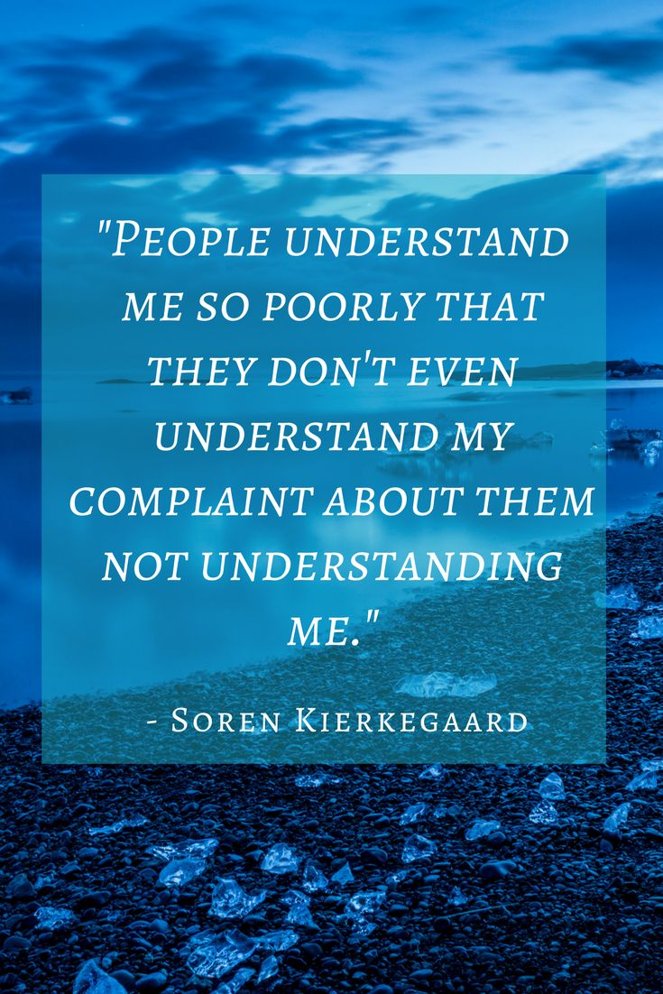 #Kierkegaard quotes that many IN types will relate to