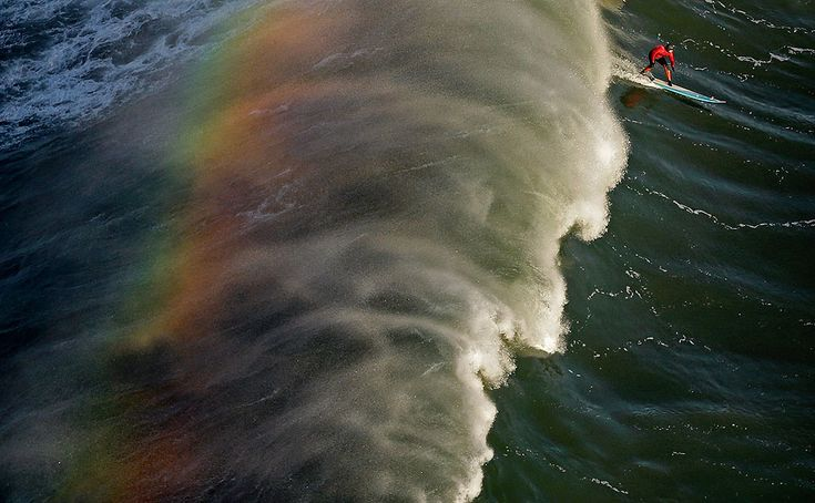 Mavericks Invitational big wave surf contest - Framework - Photos and Video - Visual Storytelling from the Los Angeles Times