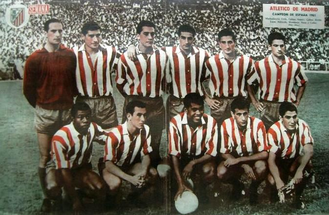 ATLETICO DE MADRID - CAMPEON DE LIGA - 1961