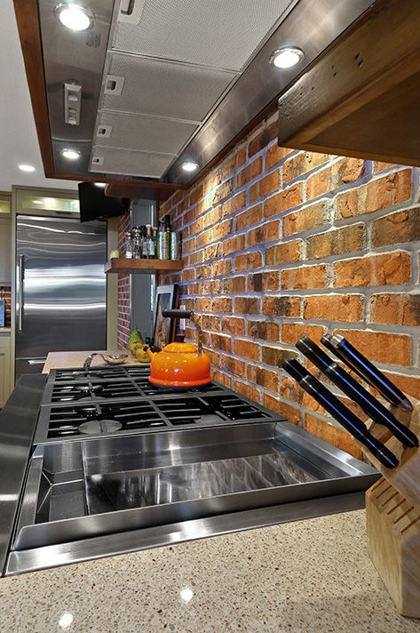 thin brick kitchen backsplash 17 best images about think thin brick on 6097