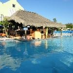 Margaritaville Swim up Bar - Grand Turk Island - Turks and Caicos Had so much fun here!!! I want to go back.