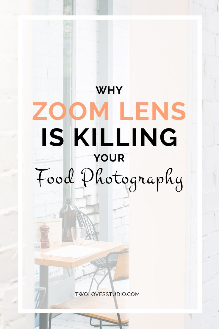 Your zoom lens could be suffocating your creativity. Find out why and nurture your food photography creativity with a FREE exercise!