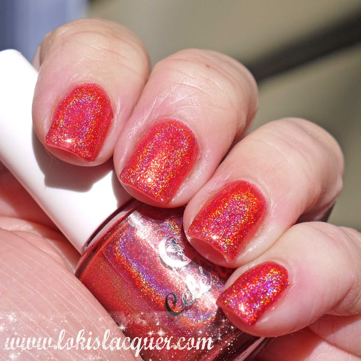 Fire & Blood swatched by @lokislacquer
