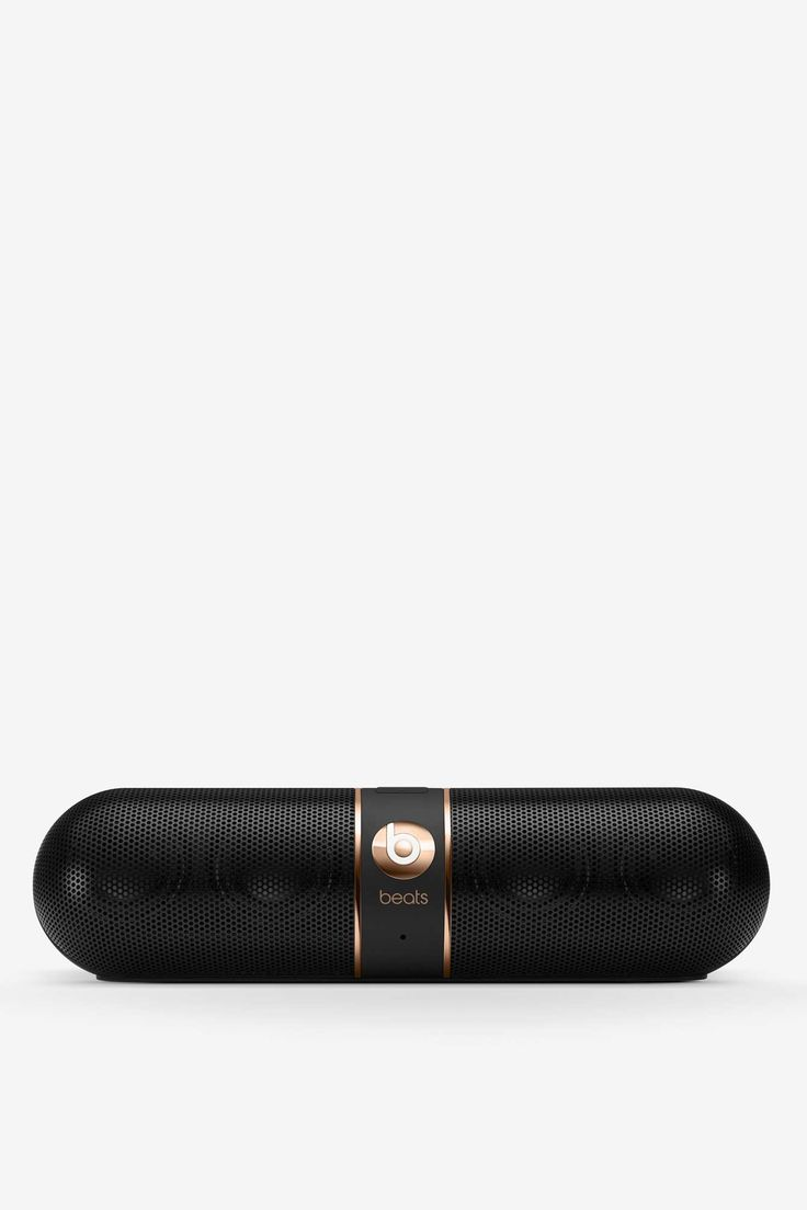 Beats by Dre Rose Gold Pill Wireless Speaker - Black