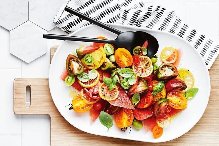 """This fresh, zinging salad champions the tomato,"" says chef Matt Moran."