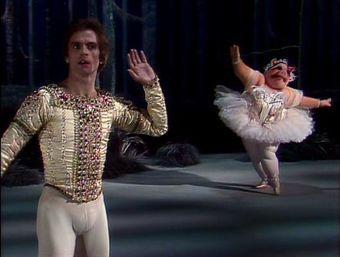 In preparation for guest star and famous ballet dancer Rudolf Nureyev, Sam the Eagle forces...