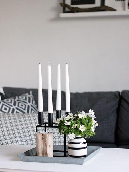 kynttelikkö,asetelma,maljakko,olohuone