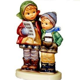 MI Hummel Christmas Duet Hummel Figurine 2280 Sold Out